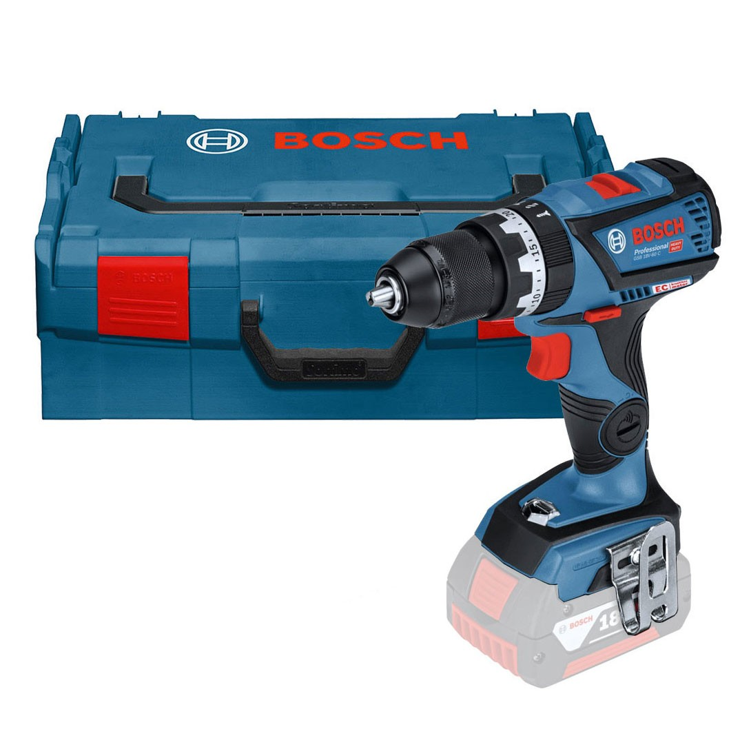 bosch gsb 18 v 60 c brushless combi drill body only in l boxx 06019g2103 powertool world. Black Bedroom Furniture Sets. Home Design Ideas
