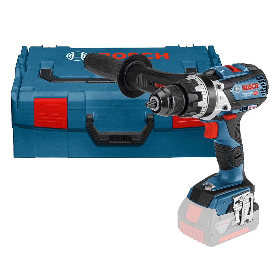 bosch gsb 18 v 85 c robust series brushless combi drill body only in l boxx carry case. Black Bedroom Furniture Sets. Home Design Ideas
