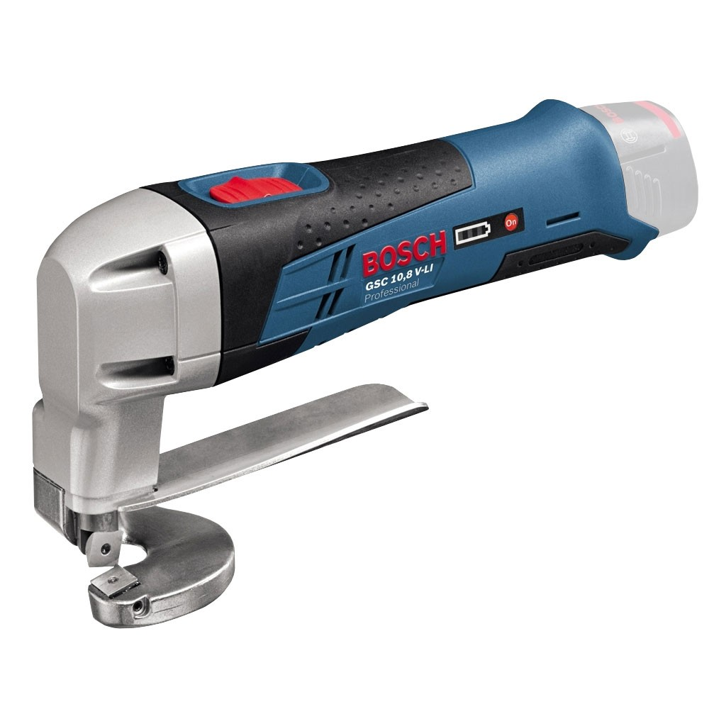 Bosch GSC 10.8 V-LI Cordless Metal Shear Body Only in Carton