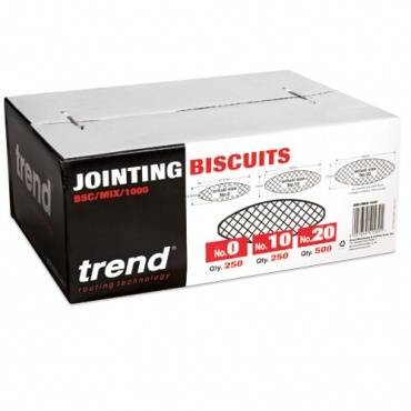 Trend BSC/MIX/1000 Biscuit mixed box 0 10&20 1000pcs