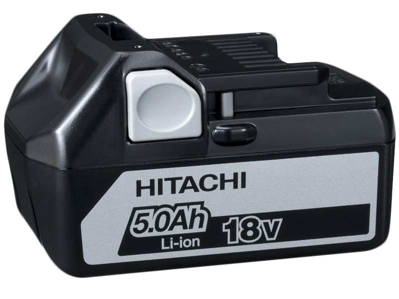 Hitachi BSL1850 18v 5.0Ah Lithium-Ion Slide On Battery