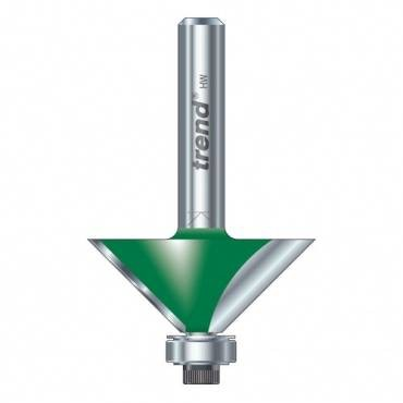 Trend C049X1/4TC Self guided chamfer angle=45 deg. x 12.7mm Cut