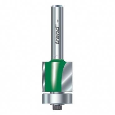 Trend C117AX1/4TC Guided trimmer 19.1mm dia.