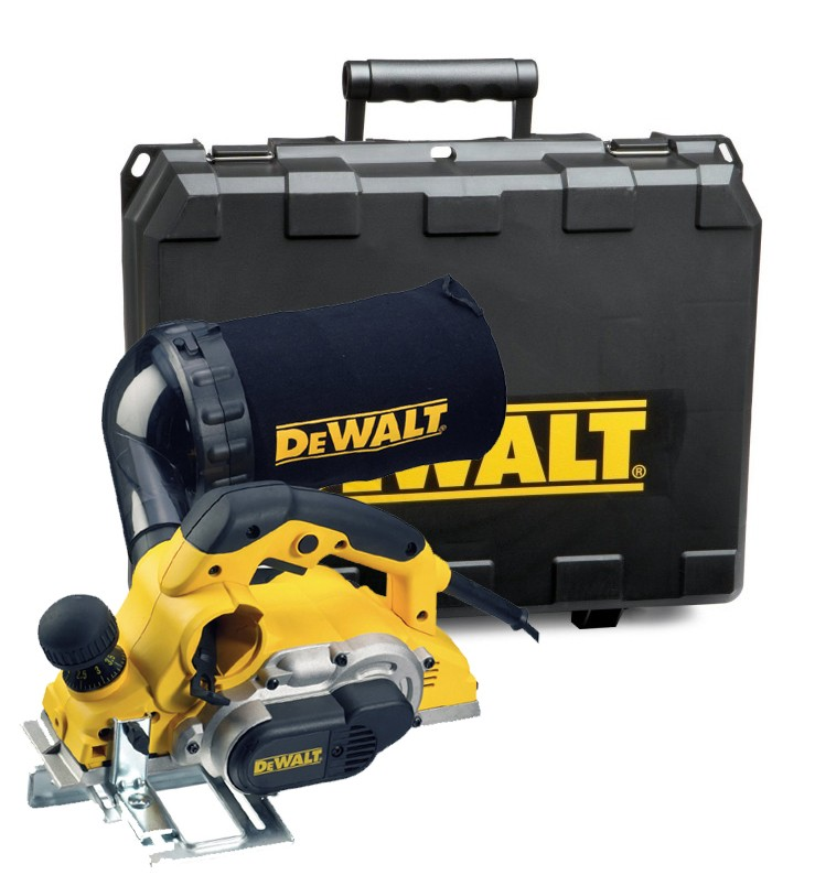 DeWalt D26500K 1050W 4mm x 82mm Planer in Carry Case 240v