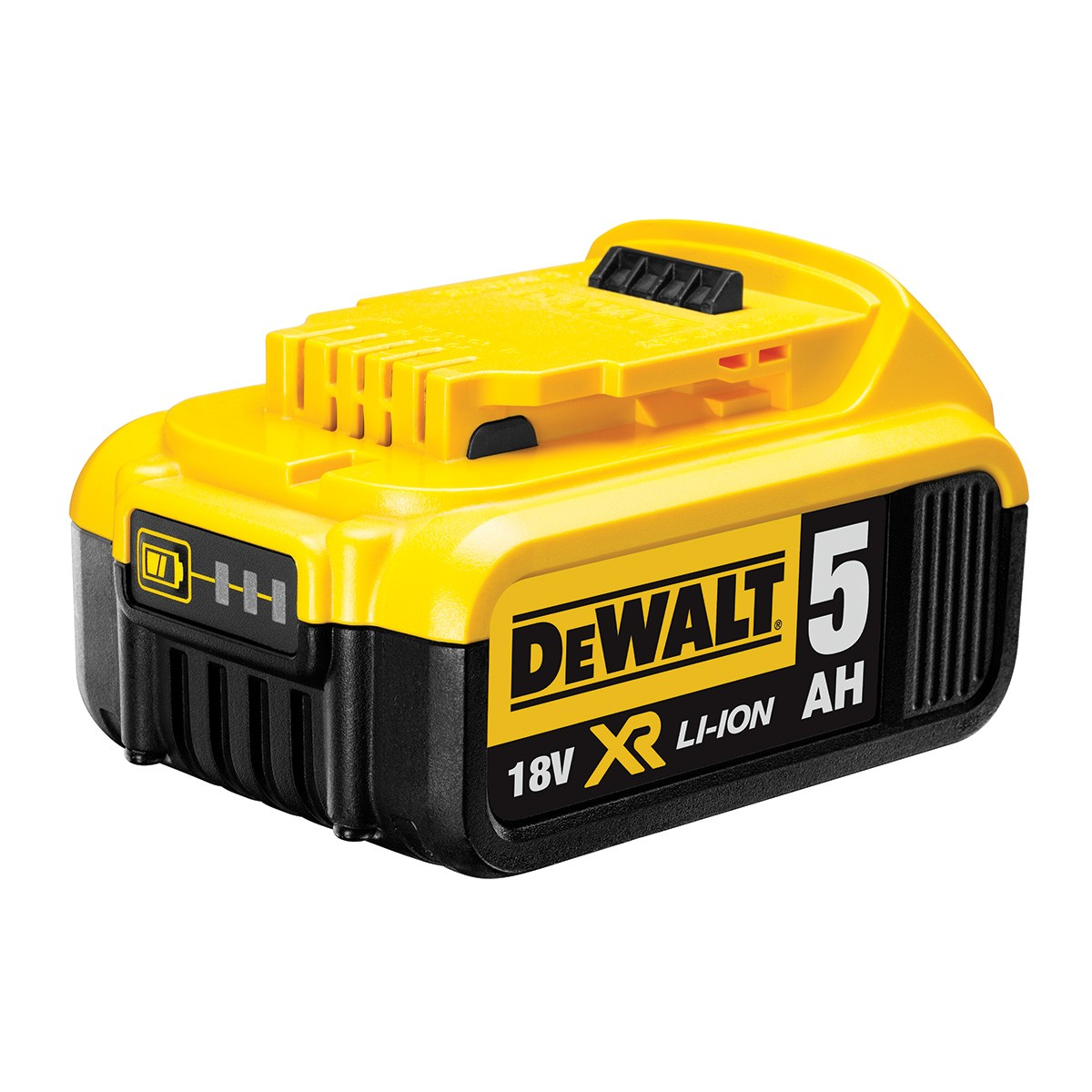 dewalt dcb184 18v 5ah li ion xr slide battery powertool world. Black Bedroom Furniture Sets. Home Design Ideas