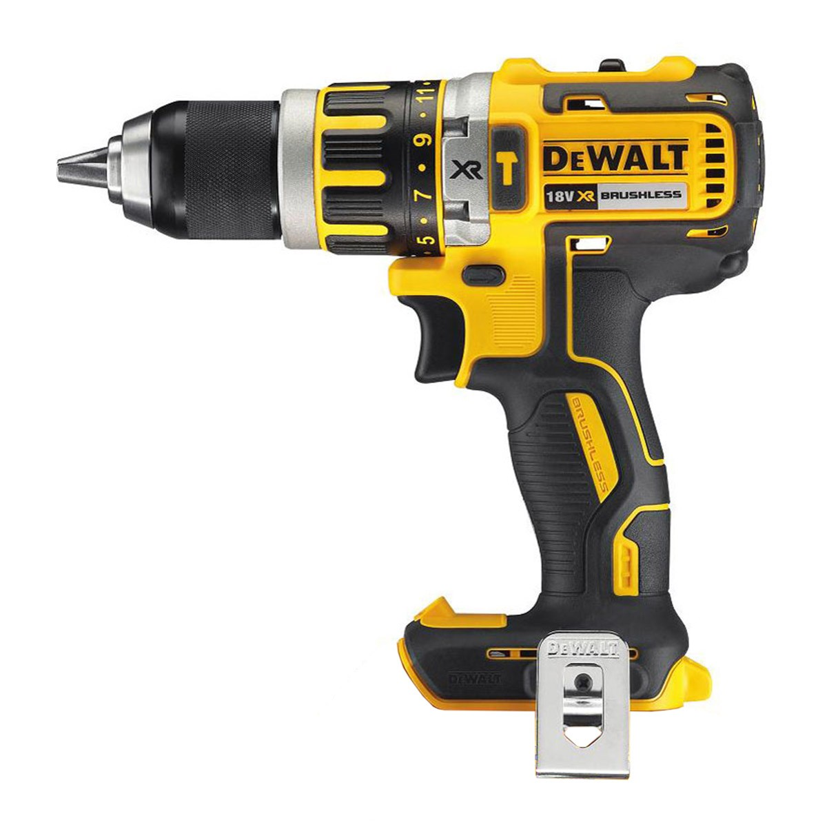 Dewalt Dust Extractor >> DeWalt DCD795N 18v XR Brushless Combi Drill Body Only | Powertool World