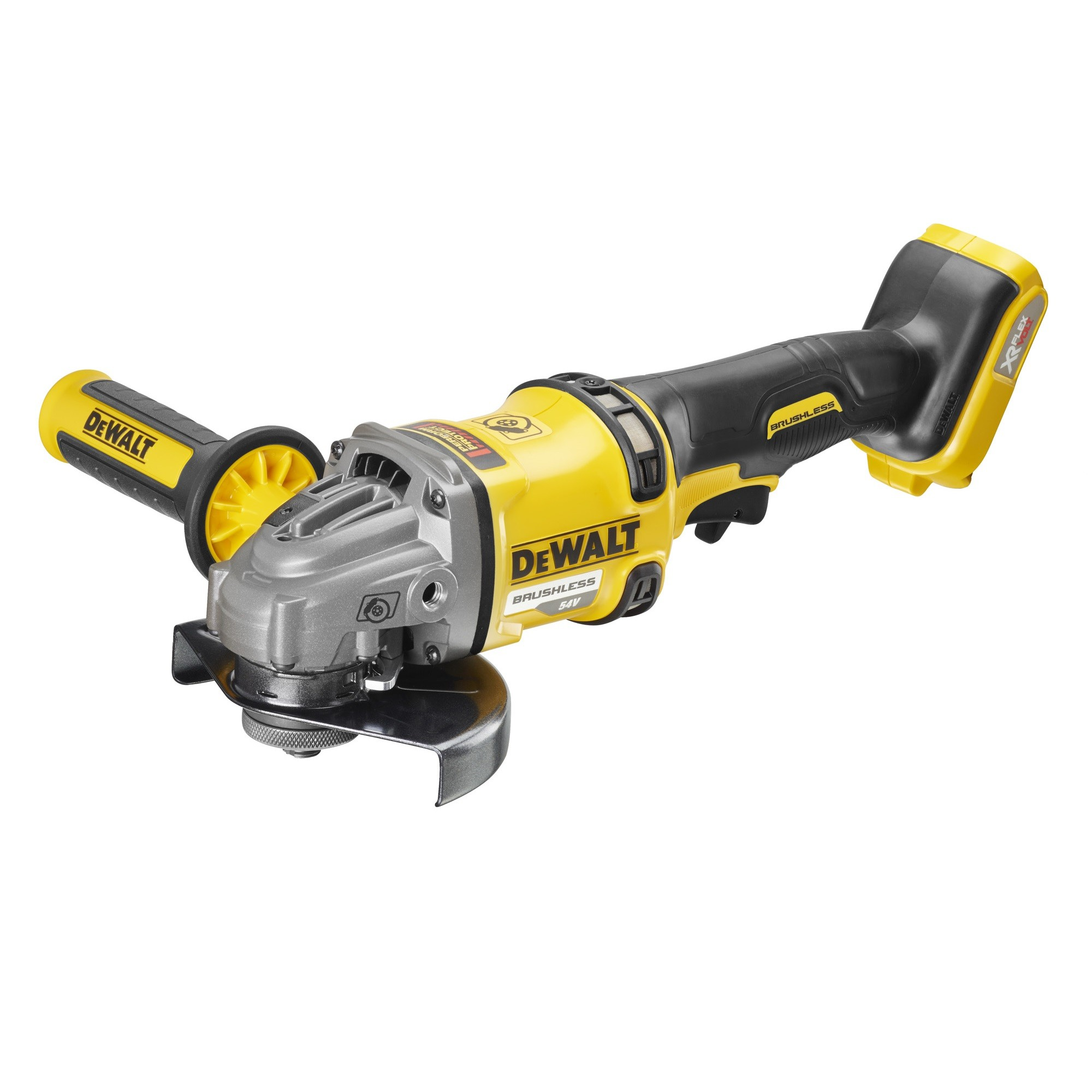 DeWalt DCG414N 54v XR FLEXVOLT Cordless Brushless Angle Grinder Body Only