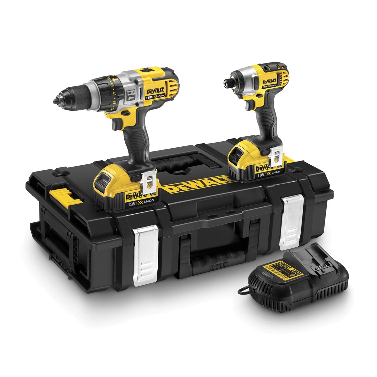 dewalt dck290m2 xr 18v combi drill impact driver. Black Bedroom Furniture Sets. Home Design Ideas