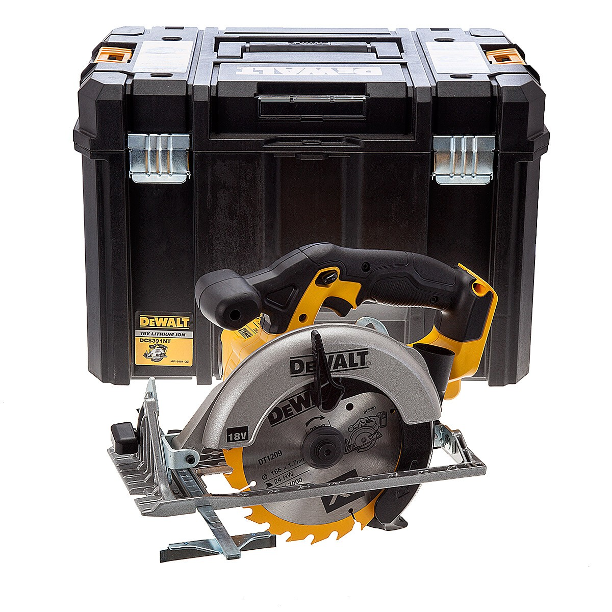 DeWalt DCS391NT XR 165mm Circular Saw Body Only in TSTAK VI Case