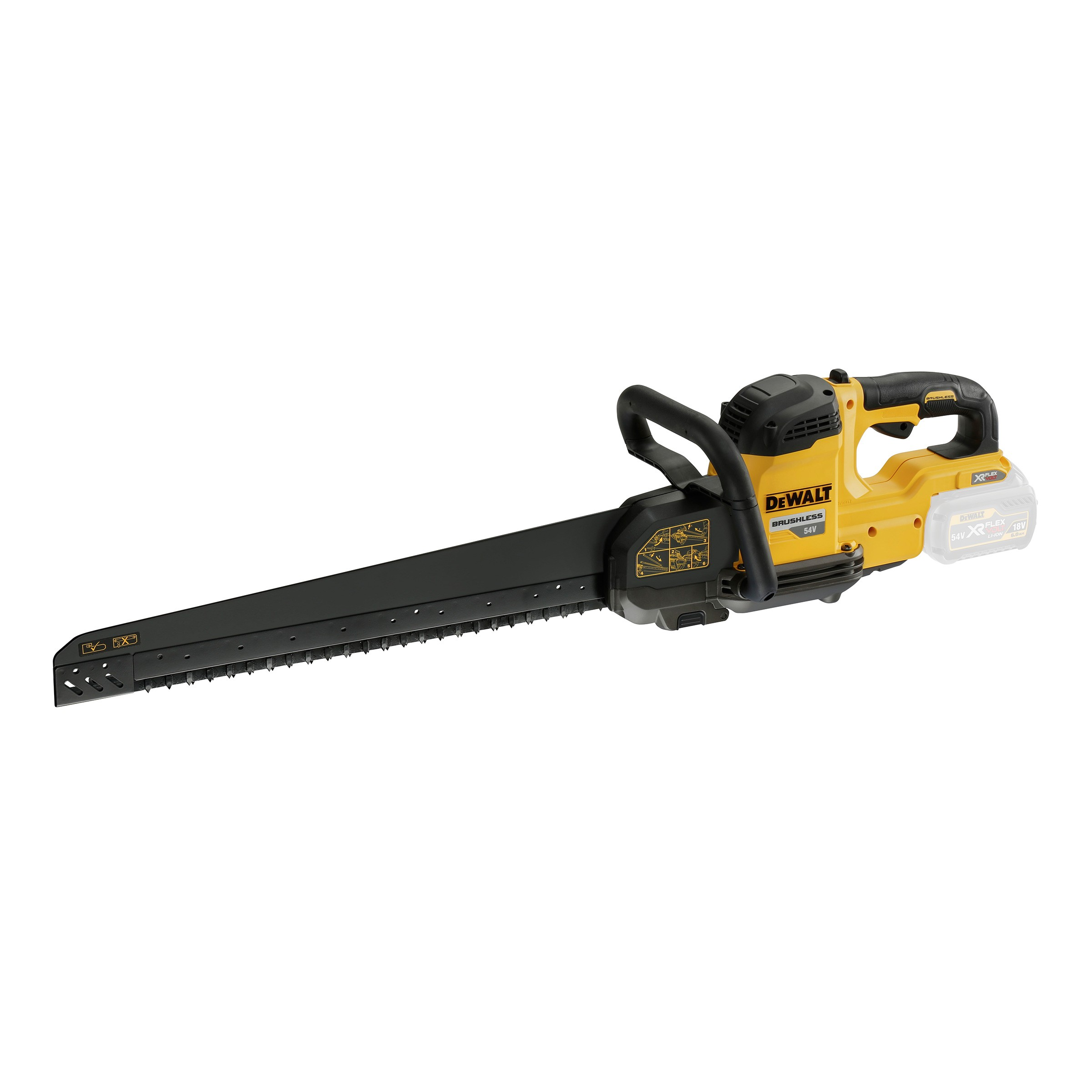 DeWalt DCS397N 54v XR FLEXVOLT 425mm Long Bar Cordless Brushless Alligator Saw Body Only