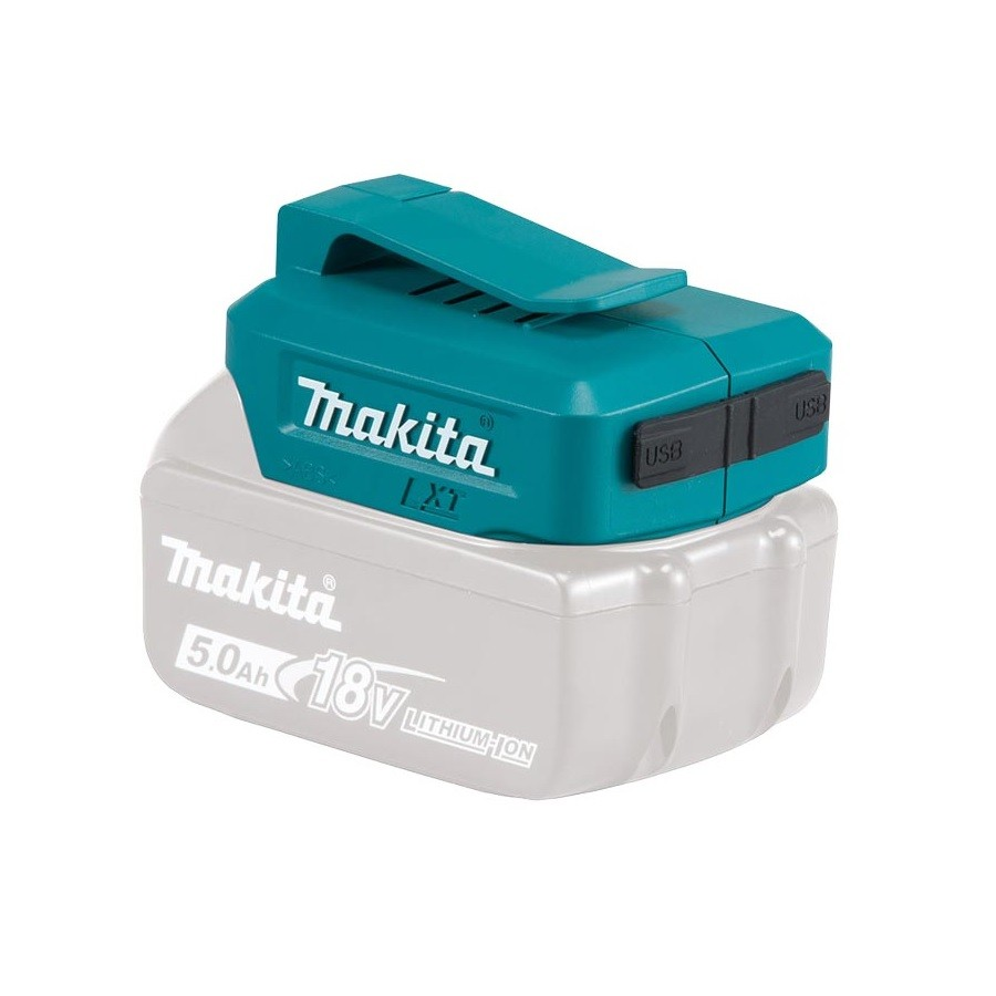 Makita DEAADP05 USB Charging 18v LXT Lithium-Ion Battery Adapter