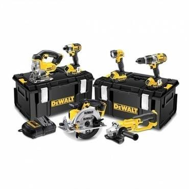 DeWalt DCK694M3-GB 18V 6 Piece Kit Inc Brushless Drill & Driver