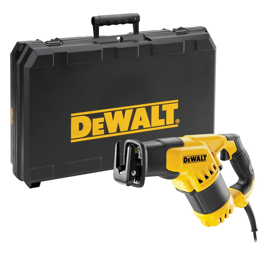Dewalt dwe357k compact reciprocating saw in carry case powertool world greentooth Image collections
