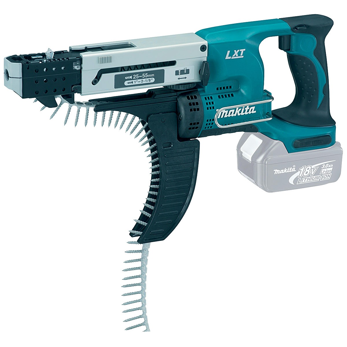 Makita DFR550Z LXT 18v Cordless Auto Feed Screwdriver Body Only