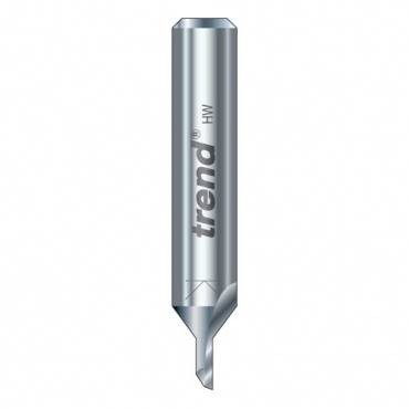 Trend DH/03X1/4TC Two flute cutter 3.2mm dia.
