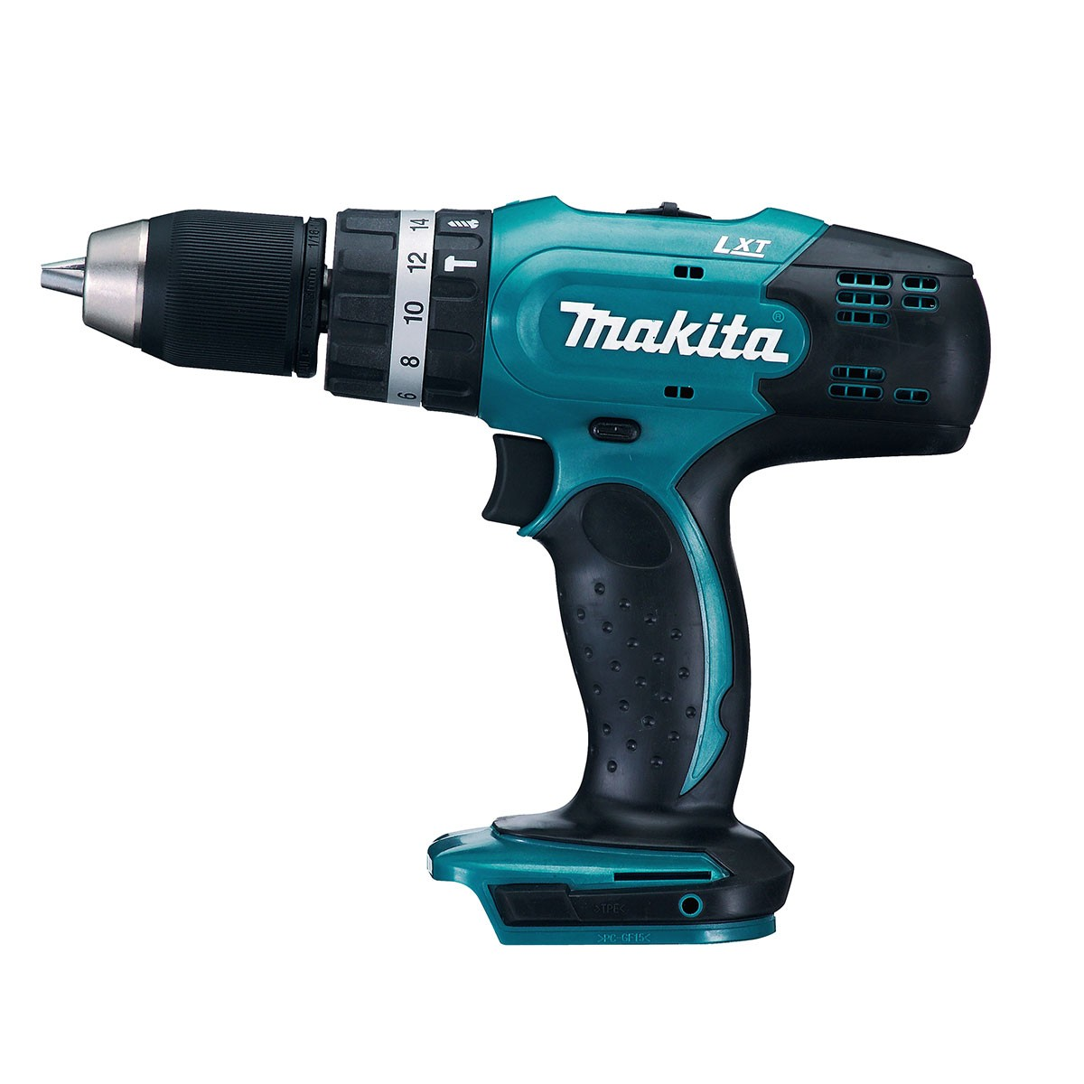 makita dhp453z lxt 18v combi drill driver body only powertool world. Black Bedroom Furniture Sets. Home Design Ideas