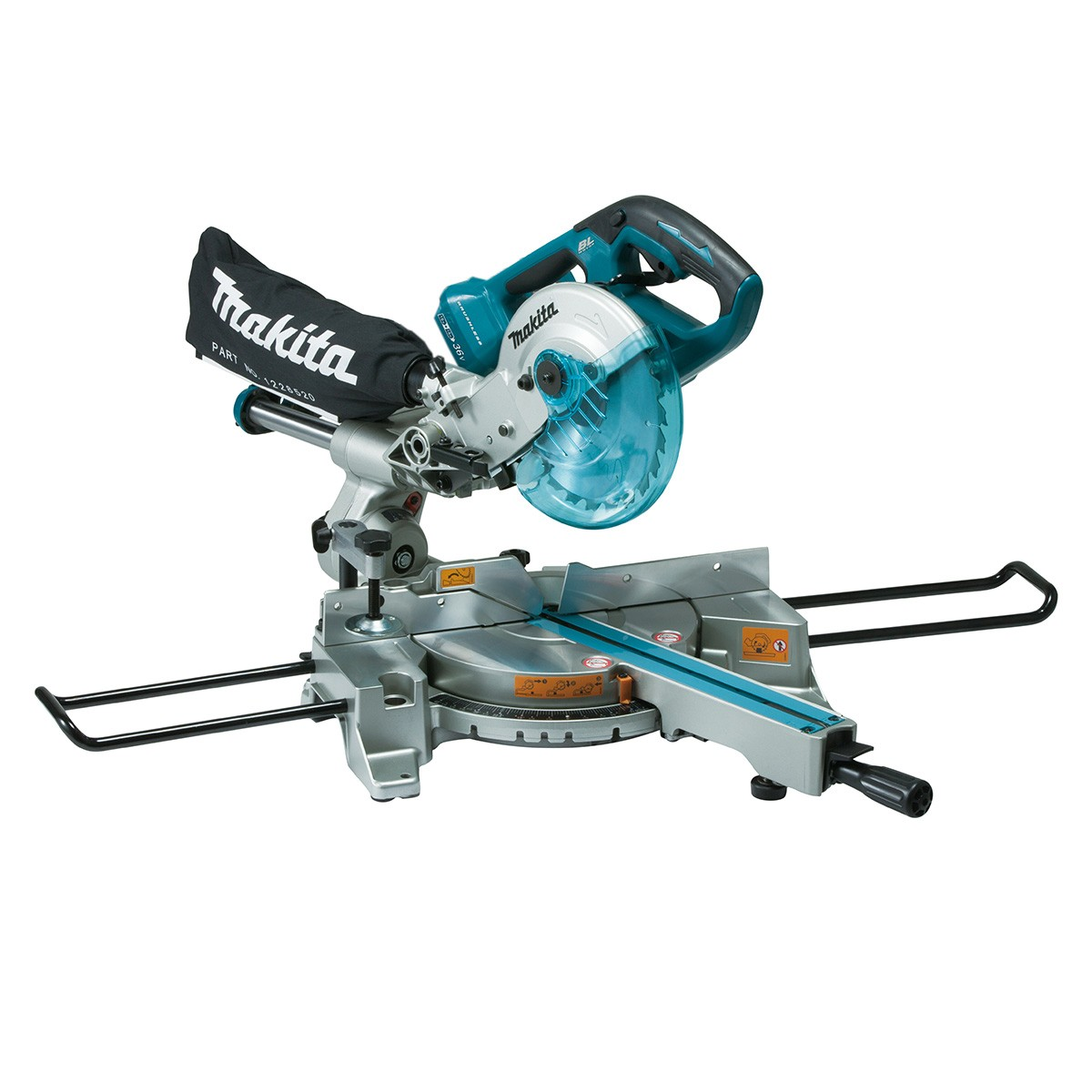 Makita DLS714Z Twin 18v Cordless Brushless Slide Compound 190mm Mitre Saw Body Only
