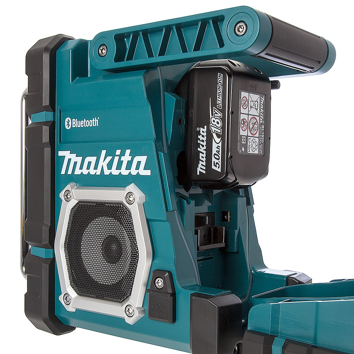 makita dmr106 am fm bluetooth job site radio powertool world. Black Bedroom Furniture Sets. Home Design Ideas