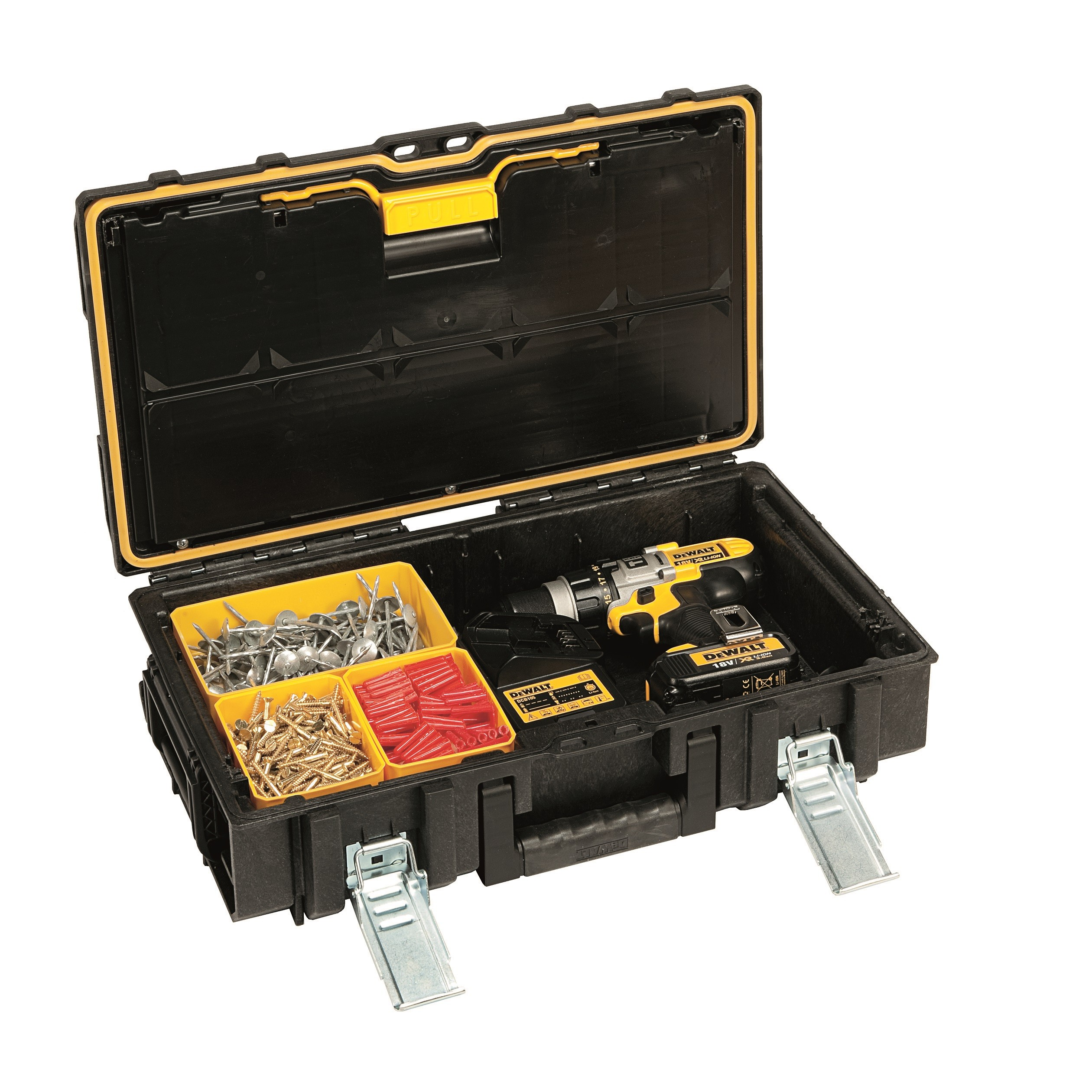 Dewalt Ds150 Xr Toughsystem Kit Box Inc 8x Organiser
