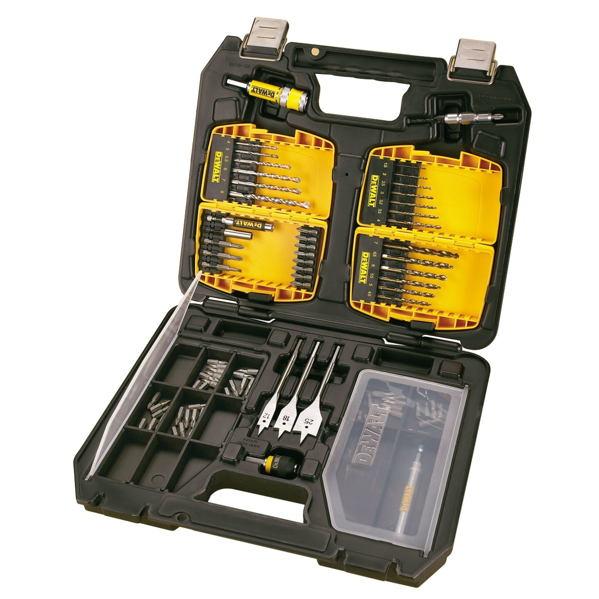 DeWalt DT9296 90 Piece Masonry / Metal Drilling & Screwdriving Set