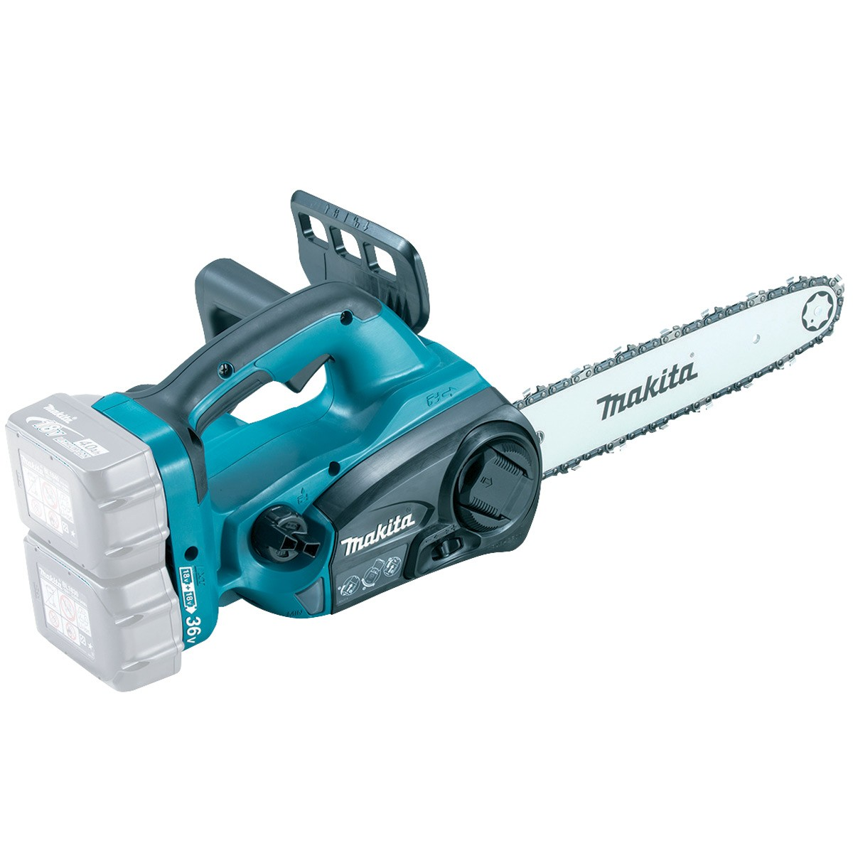 Makita DUC302Z Twin 18v LXT Cordless Chainsaw Body Only