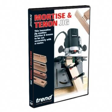 Trend DVD/TV/10 DVD mortise & tenon jig
