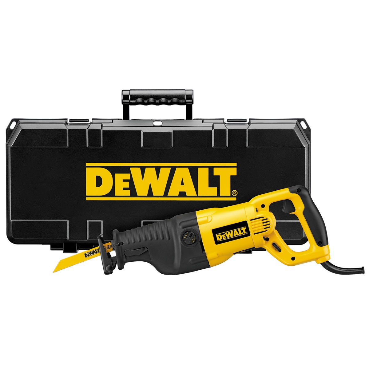 DeWalt DW311K Heavy Duty Reciprocating Saw 110v