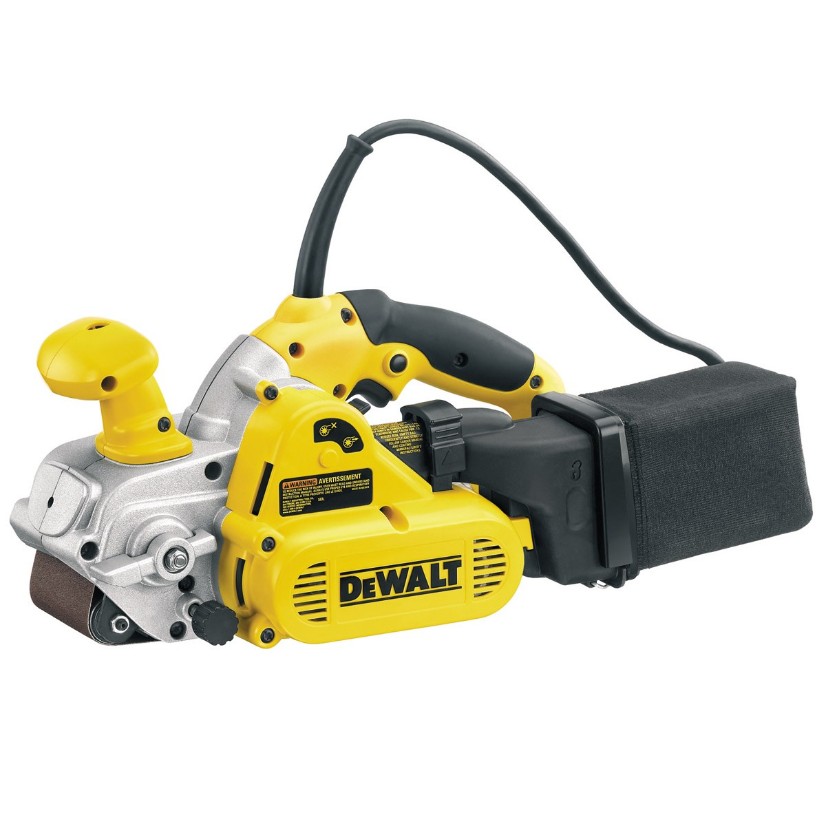 DeWalt DW433 75mm 800w Electronic Belt Sander 240v