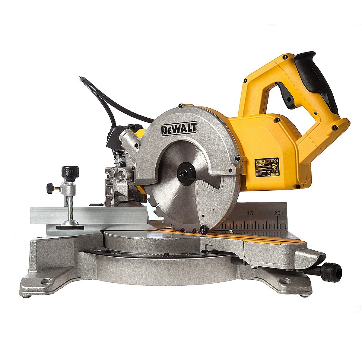 DeWalt DW777 216mm Crosscut Compound Slide Mitre Saw