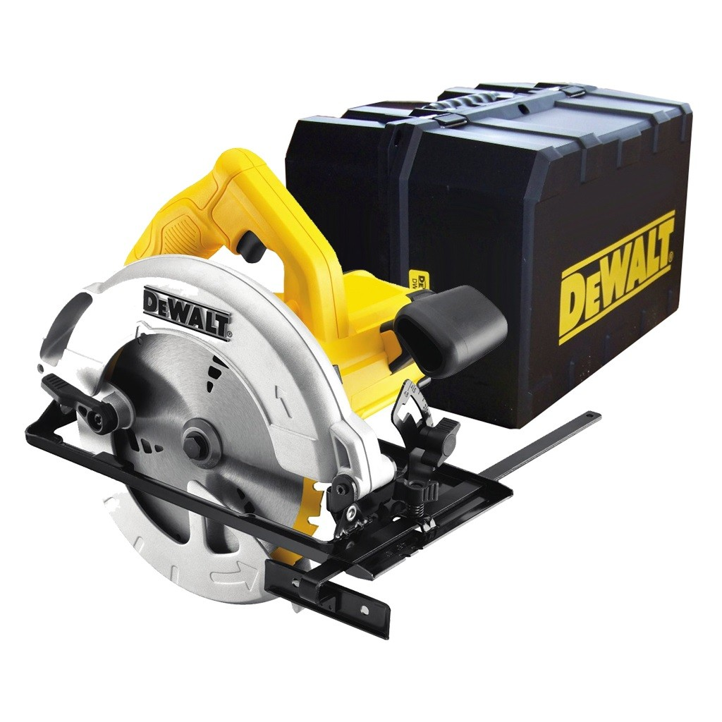DeWalt DWE560K Compact Circular Saw with 65mm Depth of Cut in Kit Box