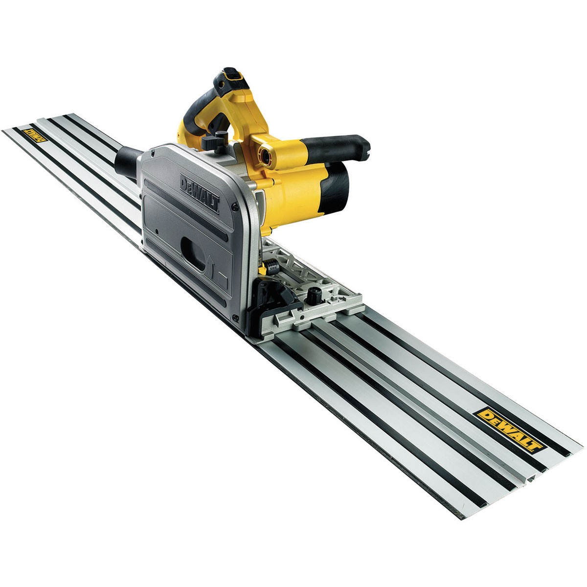 DeWalt DWS520KTR Plunge Saw & Guide Rail in TSTAK 240v