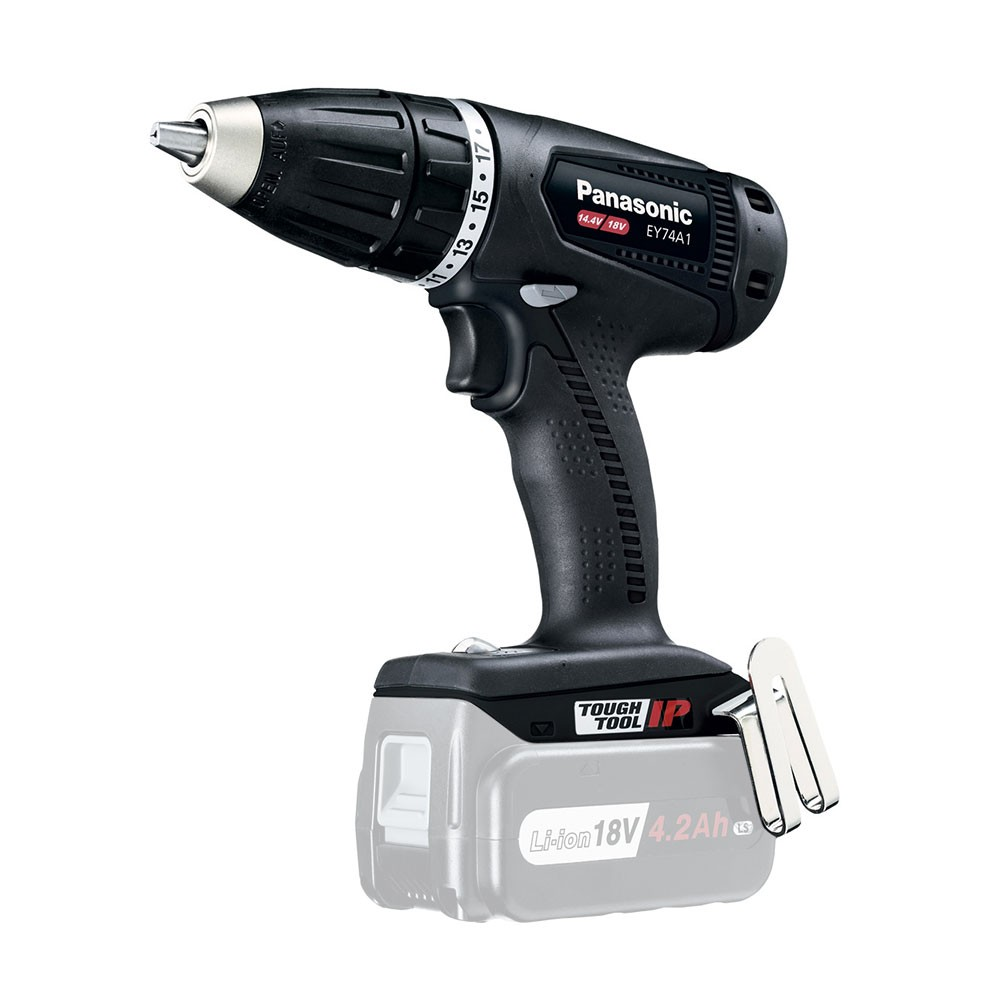 Panasonic EY74A1X Drill Driver Body Only in Limited Edition Black
