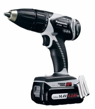 Panasonic EY7940LS2S 14.4v Hammer Drill/Driver with 2 x 4.2 Ah batteries