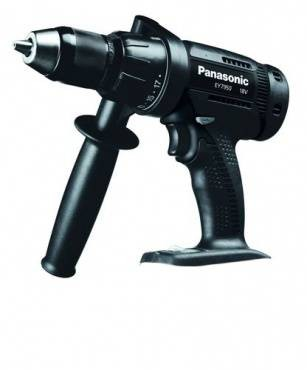 Panasonic EY7950X Combi Hammer Drill/Driver Body Only LIMITED EDITION BLACK
