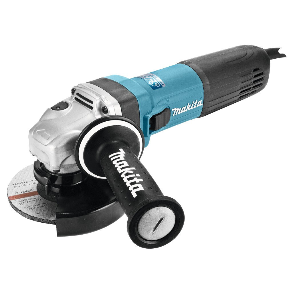 Makita GA5040R01 125mm Angle Grinder with AVT Handle