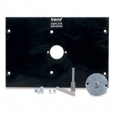 Trend GB/PLATE Sub base with bush and pins