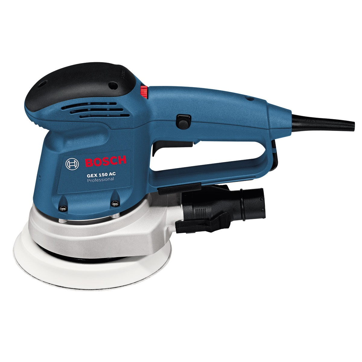bosch gex 150 ac random orbit sander powertool world. Black Bedroom Furniture Sets. Home Design Ideas