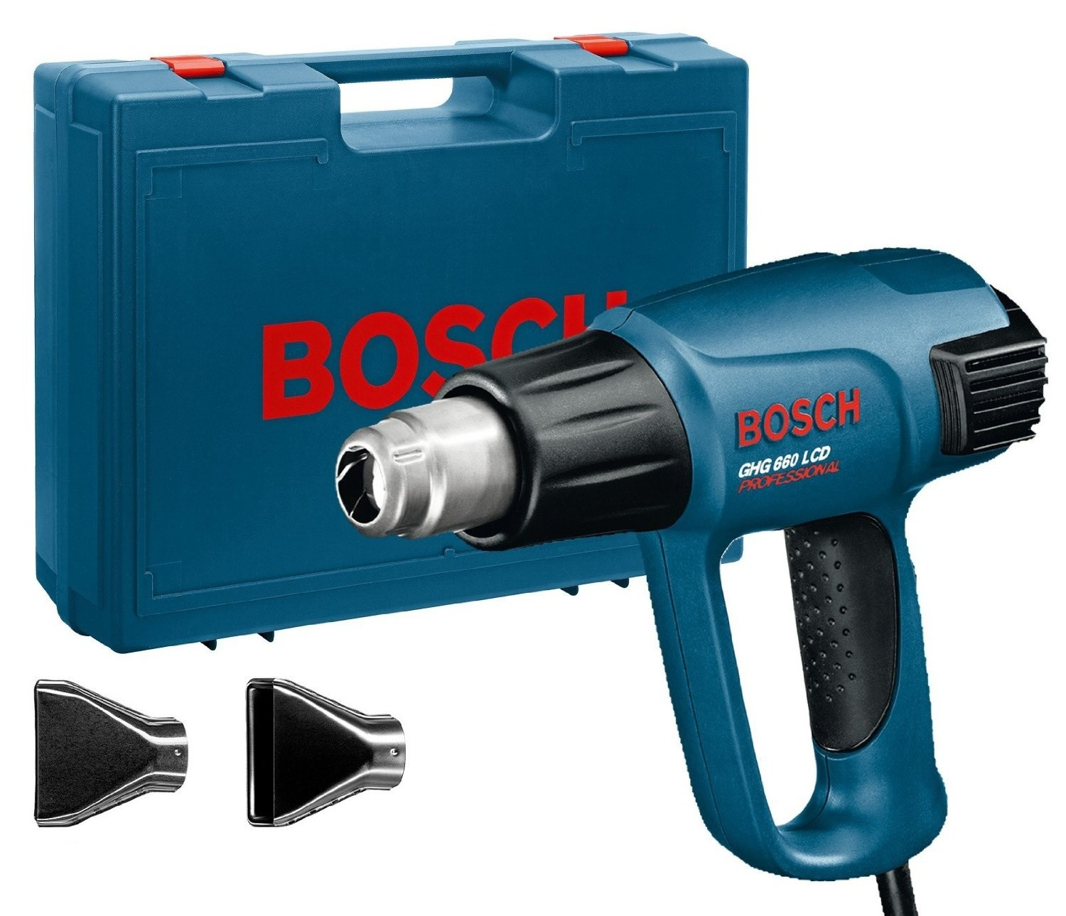 bosch ghg 660 lcd pistol grip heat gun powertool world. Black Bedroom Furniture Sets. Home Design Ideas
