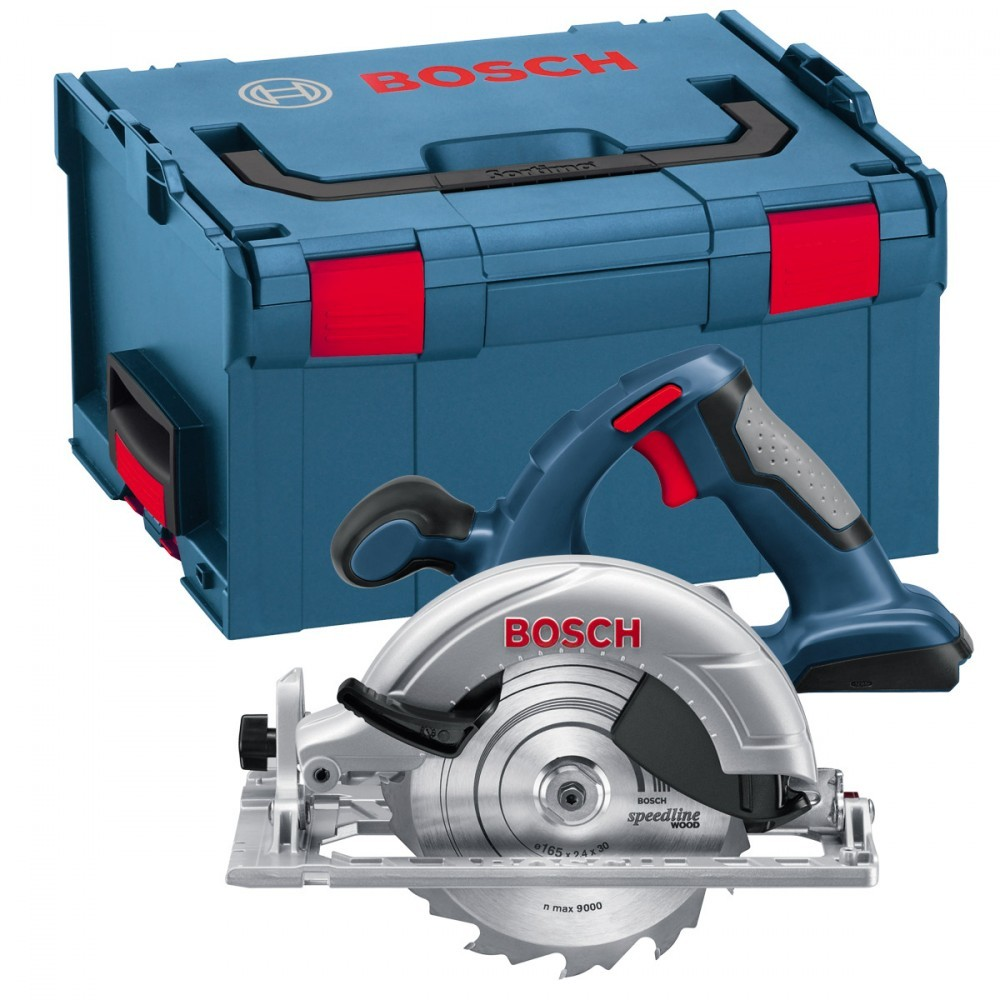 bosch gks 18 v li circular saw body only in l boxx powertool world. Black Bedroom Furniture Sets. Home Design Ideas