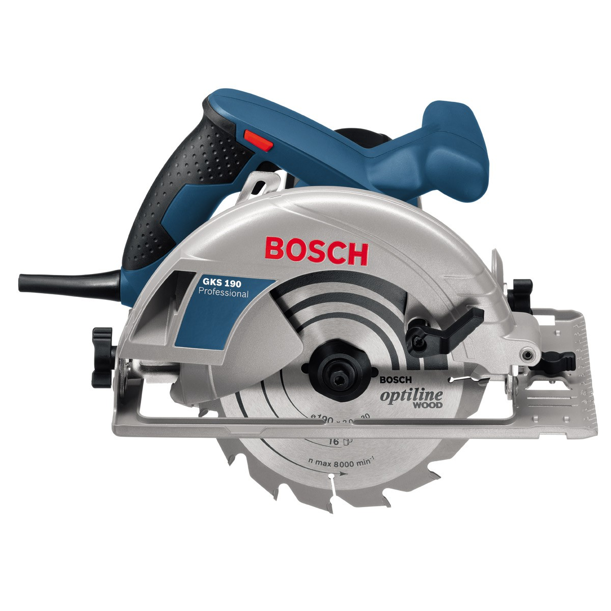 bosch gks 190 circular saw in carry case powertool world. Black Bedroom Furniture Sets. Home Design Ideas