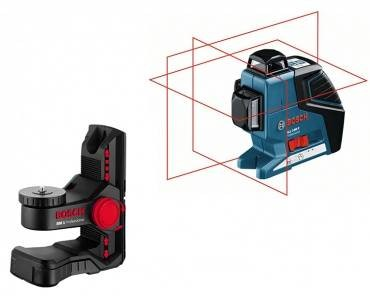 Bosch GLL 3-80 P Cross Line Laser inc BM1 Wall Mount