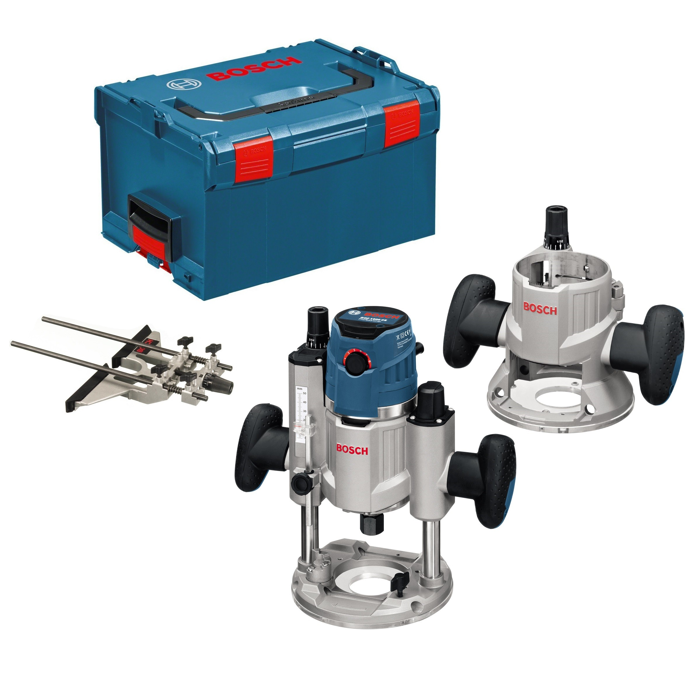 "Bosch GMF 1600 CE Professional Multifunction 1/4"" and 1/2"" Router"