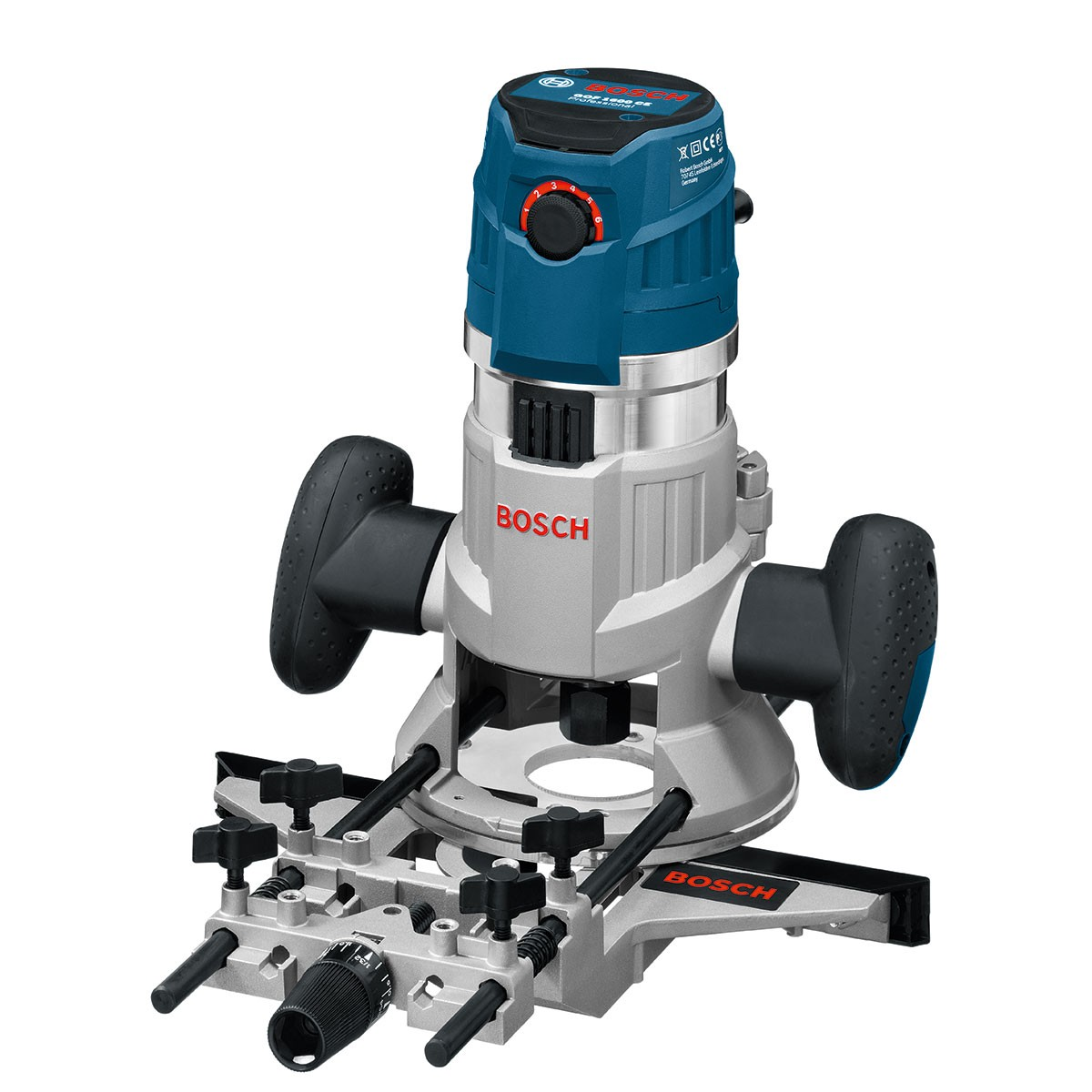 """Bosch GMF 1600 CE Professional Multifunction 1/4"""" + 1/2"""" Router"""