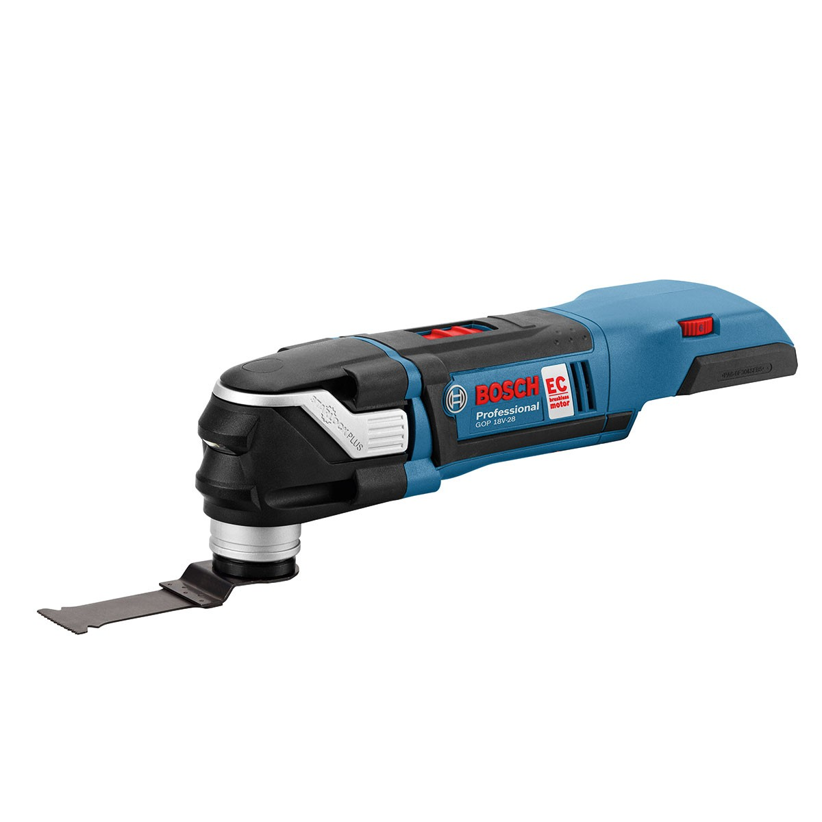 bosch gop 18 v 28 cordless brushless multi cutter with. Black Bedroom Furniture Sets. Home Design Ideas