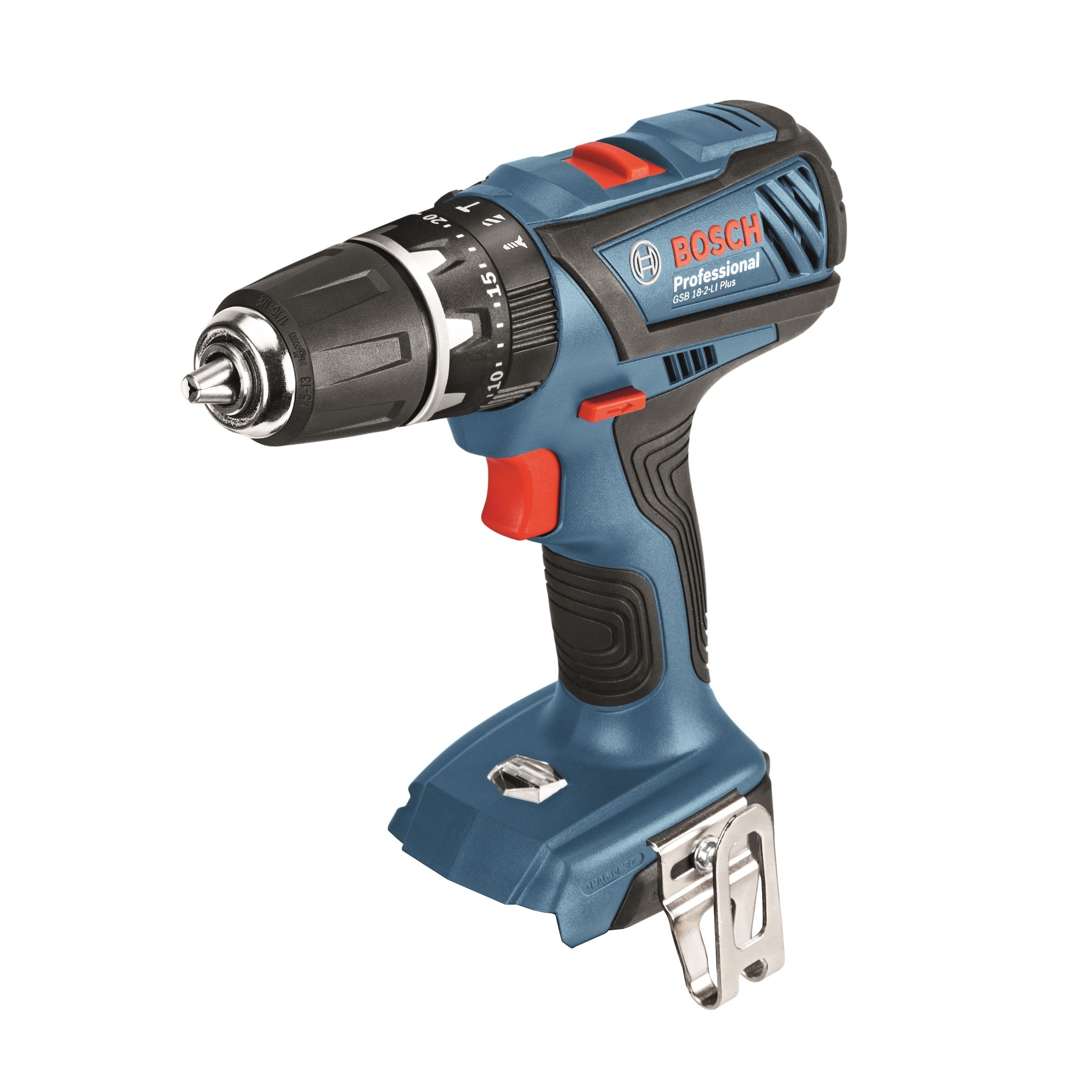 Bosch GSB 18-2-LI Plus 18v Combi Drill Body Only 06019E7102