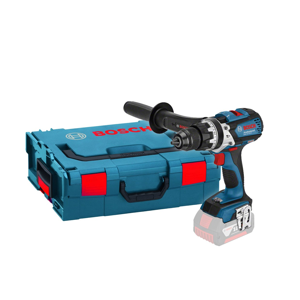Bosch GSB 18 VE-EC RS Brushless Combi Drill Body Only in L-Boxx 06019F1300