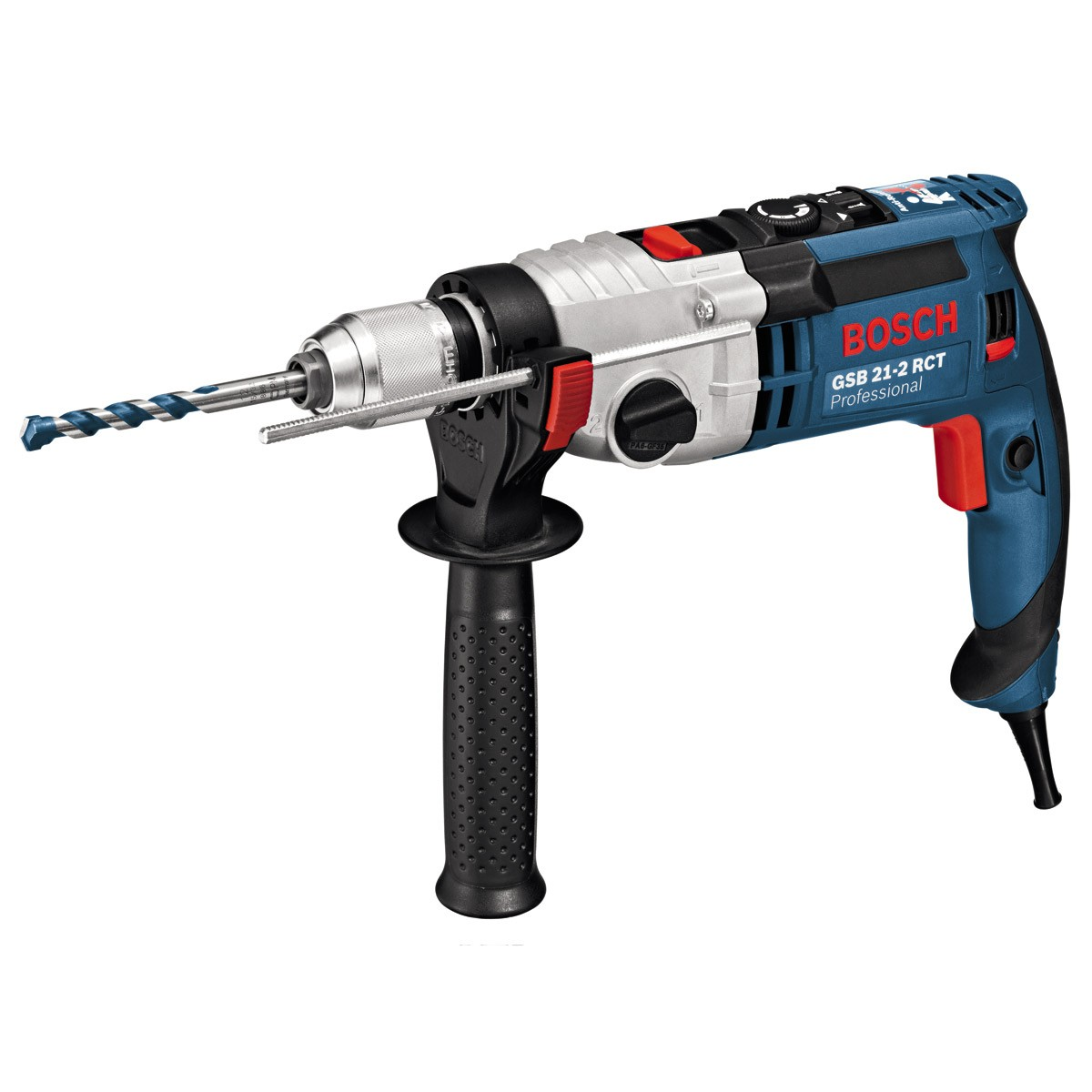 Bosch GSB 21-2 RCT Two Speed 1300W Impact Percussion Drill 240v