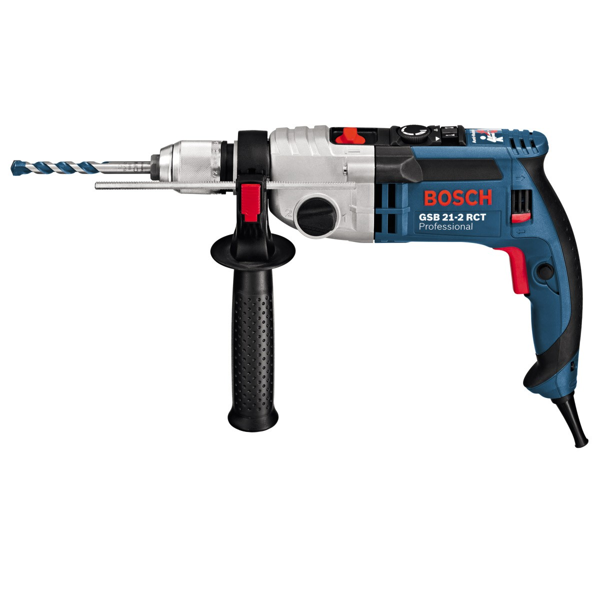 bosch gsb 21 2 rct two speed 1300w impact percussion drill 240v powertool world. Black Bedroom Furniture Sets. Home Design Ideas