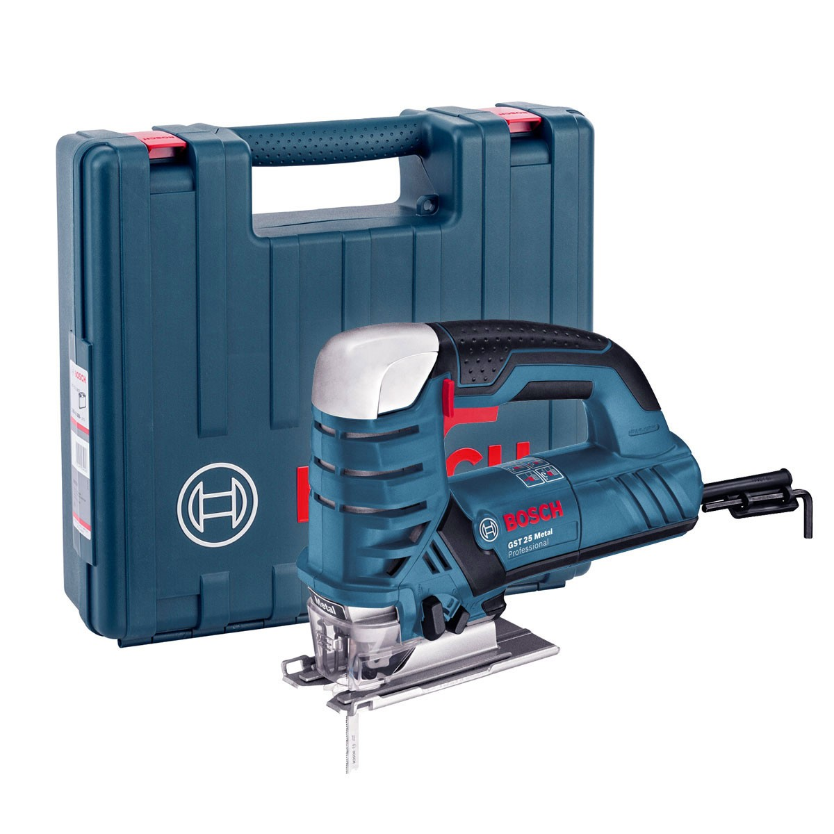 Bosch GST 25 M Metal Cutting Jigsaw inc 15 Blades in Carry Case