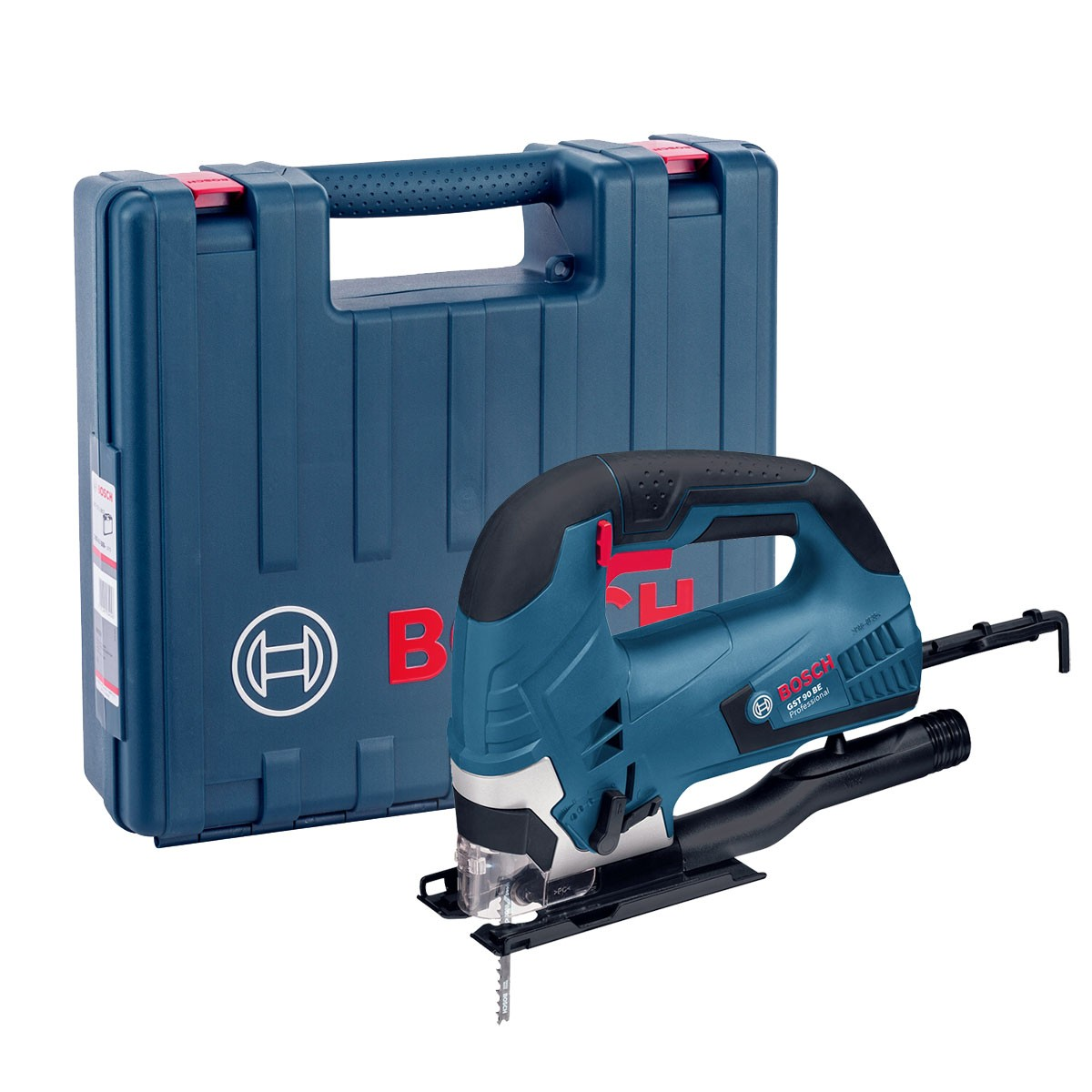 Bosch GST 90 BE 90mm 650W Bow Handle Jigsaw in Carry Case